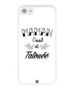 Coque iPhone 5c – Maman cool et tatouée