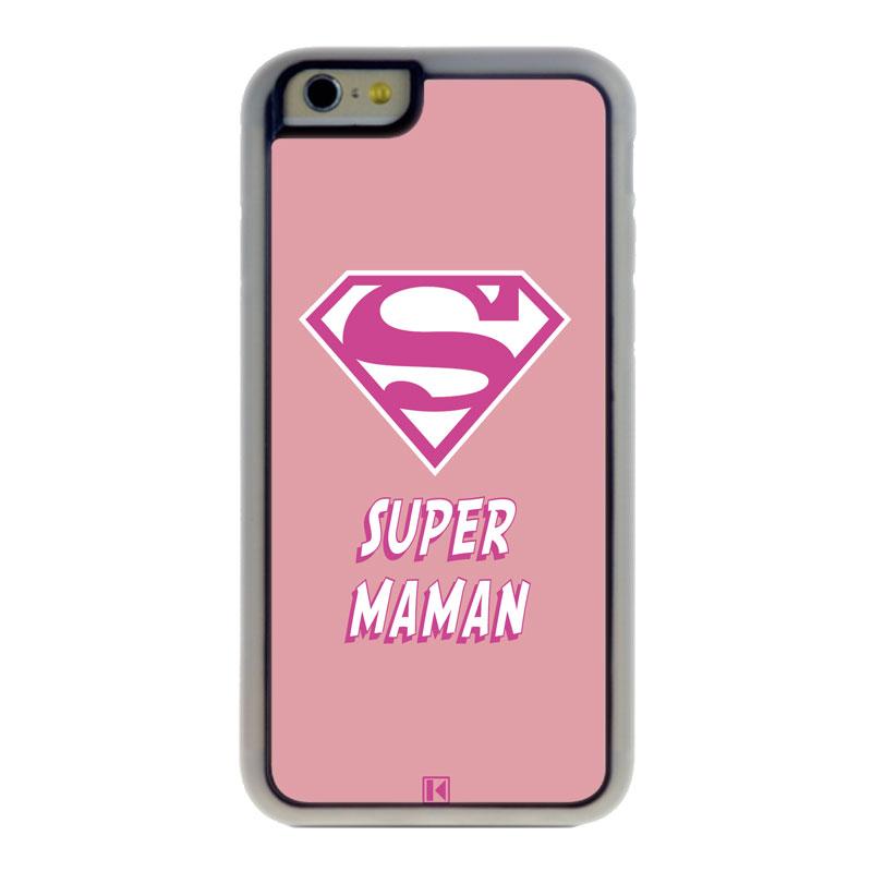 Coque iPhone 6 / 6s - Super Maman