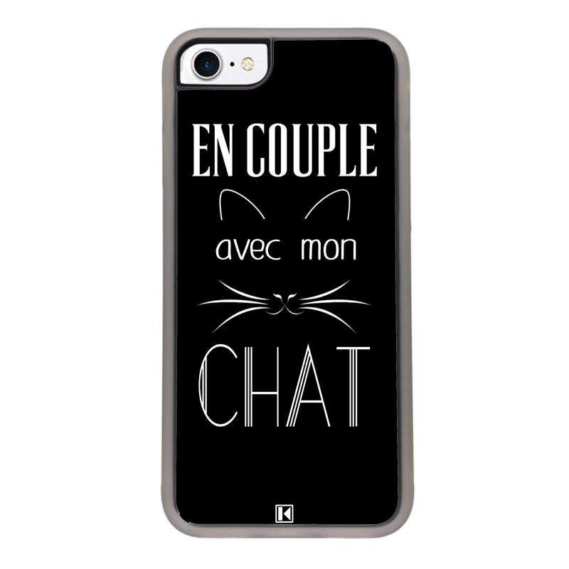chat coque iphone 8