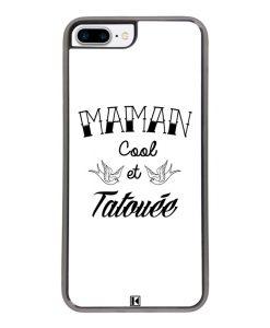 Coque iPhone 7 Plus / 8 Plus – Maman cool et tatouée
