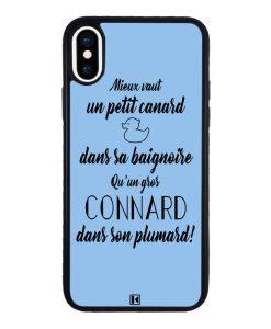 theklips-coque-iphone-x-10-mieux-vaut-un-petit-canard-dans-sa-baignoire-q-un-gros-connard-dans-son-plumard-bleu-ciel