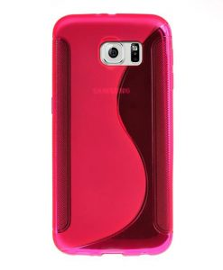 theklips-coque-galaxy-s7-edge-silicone-grip-rose