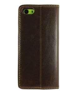 theklips-etui-iphone-5c-leather-flip-marron-2