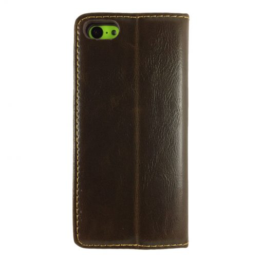 theklips-etui-iphone-5c-leather-flip-marron-2