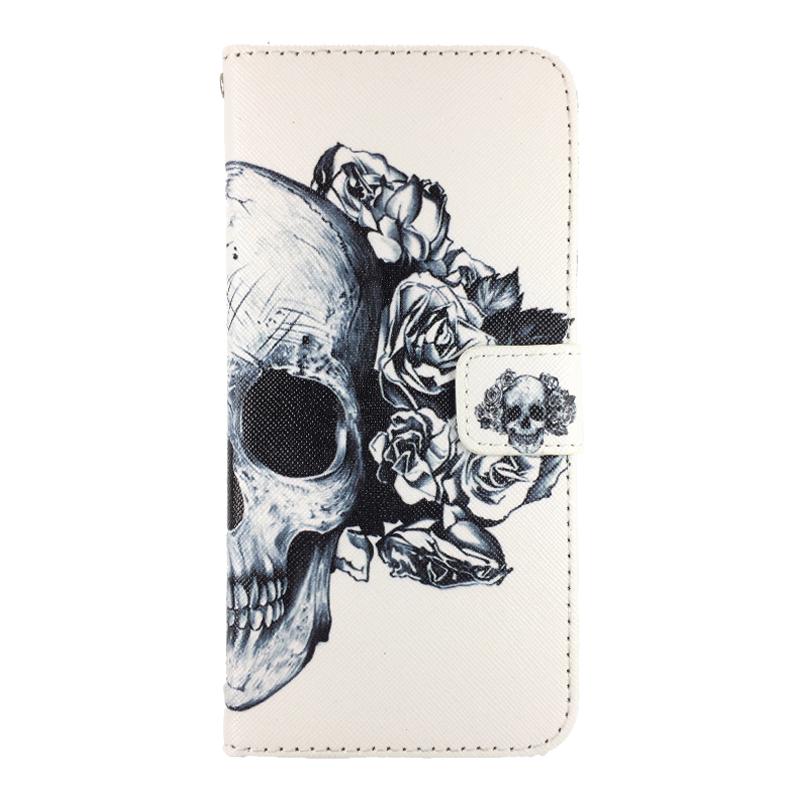 theklips etui iphone 7 plus skull flower