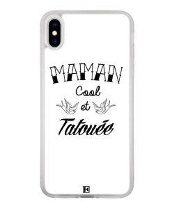 Coque iPhone Xs Max – Maman cool et tatouée