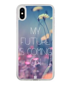 theklips-coque-iphone-x-iphone-xs-rubber-translu-my-futur-is-coming-on