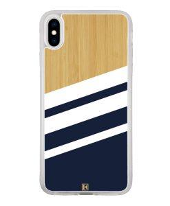 theklips-coque-iphone-xs-iphone-x-rubber-translu-bambou-sport-bleu