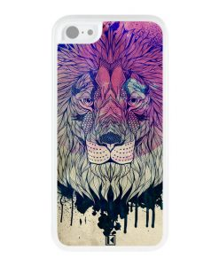 theklips-coque-iphone-5c-lion-face