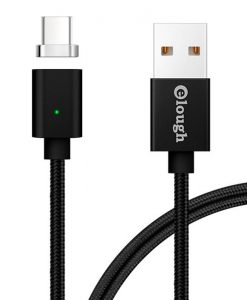 theklips-cable-usb-c-magnetique-noir