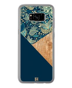 theklips-coque-galaxy-s8-plus-graphic-wood-bleu