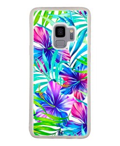 theklips-coque-galaxy-s9-exotic-flowers