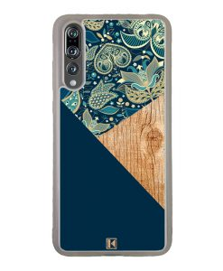 theklips-coque-huawei-p20-pro-graphic-wood-bleu