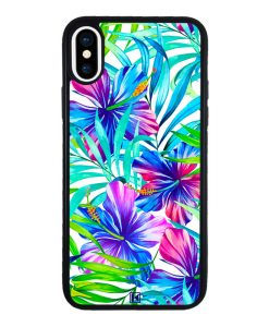 theklips-coque-iphone-x-iphone-xs-exotic-flowers