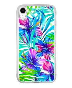 theklips-coque-iphone-xr-exotic-flowers