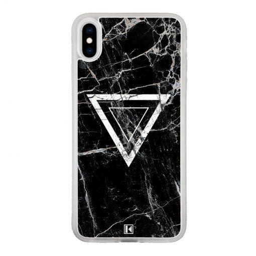 theklips-coque-iphone-xs-iphone-x-rubber-translu-black-marble