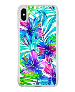 theklips-coque-iphone-xs-max-exotic-flowers