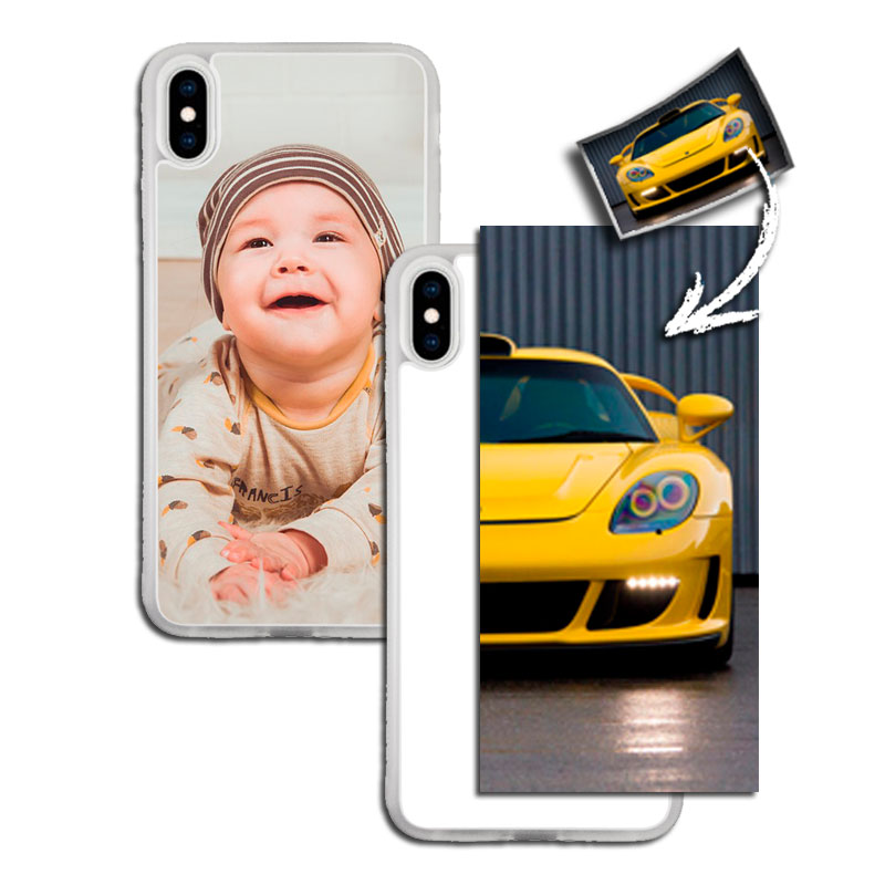 coque iphone xs max personnalisable photo