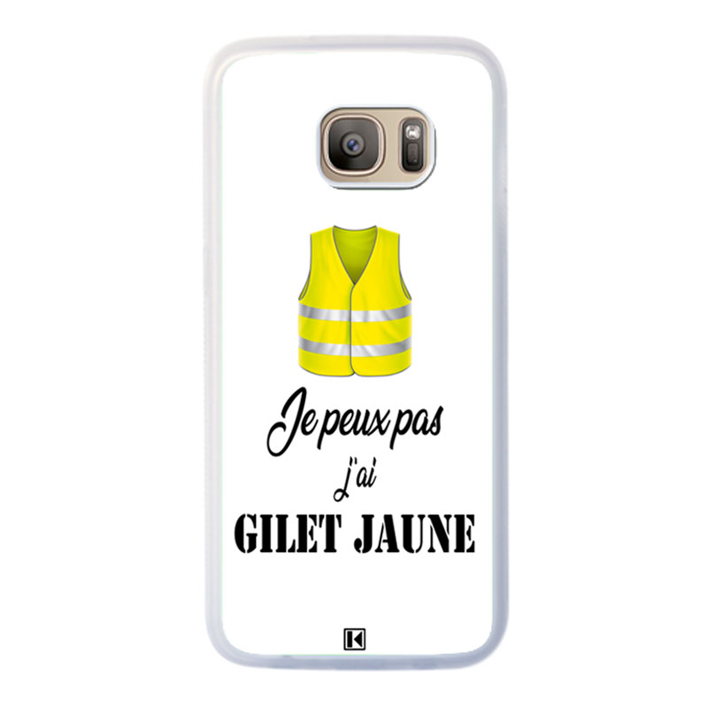 coque galaxy s7 jaune