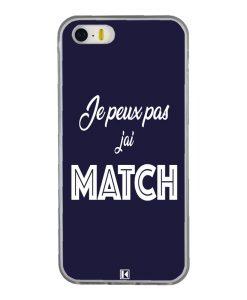 Coque iPhone 5/5s/SE – Je peux pas j'ai Match