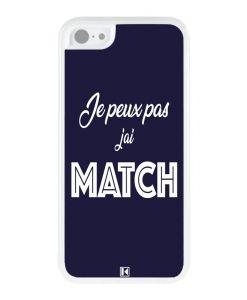Coque iPhone 5c – Je peux pas j'ai Match