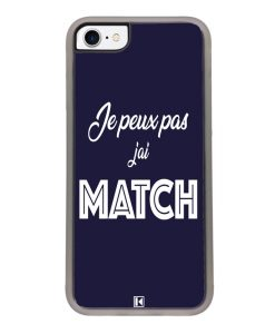 Coque iPhone 7 / 8 – Je peux pas j'ai Match