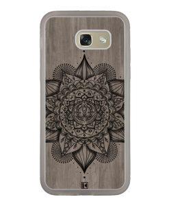 Coque Galaxy A5 2017 – Mandala on wood