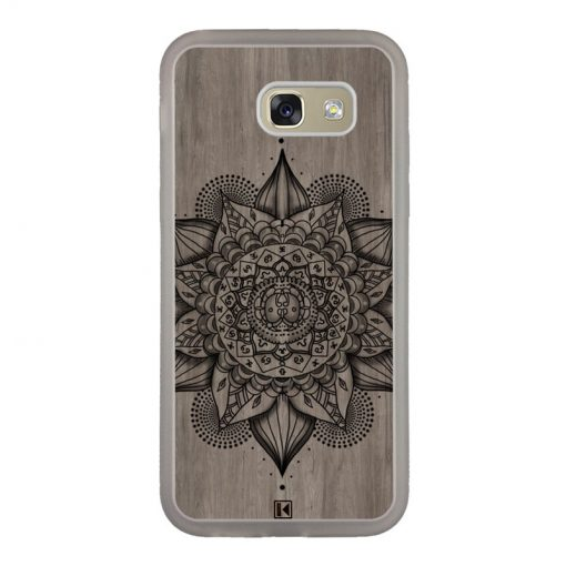 Coque Galaxy A5 2017 – Mandala on wood