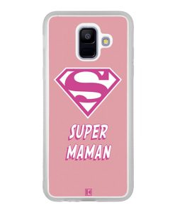Coque Galaxy A6 2018 – Super Maman