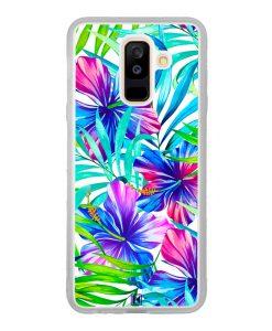Coque Galaxy A6 Plus – Extoic flowers