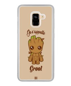 Coque Galaxy A8 2018 – Je s'appelle Groot