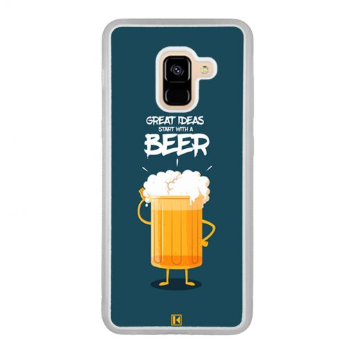 Coque Galaxy A8 2018 – Start with a beer