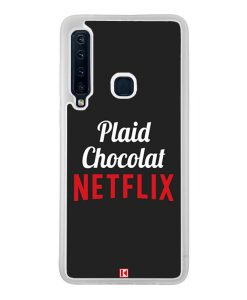 Coque Galaxy A9 2018 – Plaid Chocolat Netflix