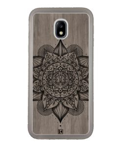 Coque Galaxy J3 2017 – Mandala on wood