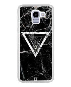 Coque Galaxy J6 2018 – Black marble