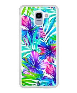 Coque Galaxy J6 2018 – Extoic flowers