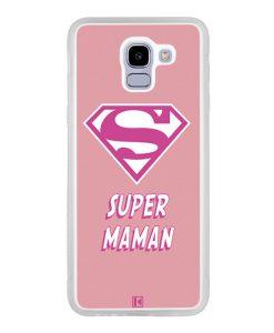 Coque Galaxy J6 2018 – Super Maman