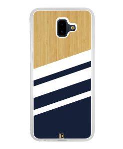 Coque Galaxy J6 Plus – Bambou Sport Bleu