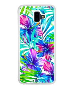 Coque Galaxy J6 Plus – Extoic flowers