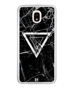 Coque Galaxy J7 2018 – Black marble