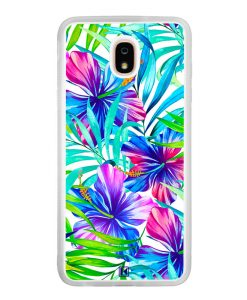 Coque Galaxy J7 2018 – Extoic flowers
