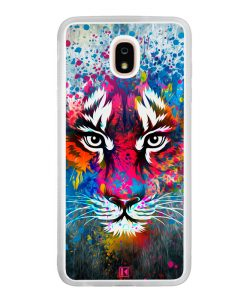 Coque Galaxy J7 2018 – Extoic tiger