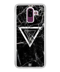 Coque Galaxy J8 2018 – Black marble