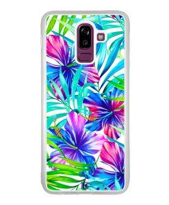 Coque Galaxy J8 2018 – Extoic flowers