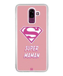 Coque Galaxy J8 2018 – Super Maman