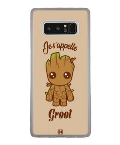 Coque Galaxy Note 8 – Je s'appelle Groot