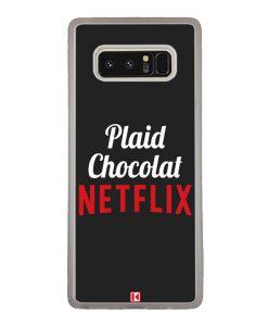 Coque Galaxy Note 8 – Plaid Chocolat Netflix