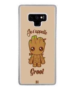 Coque Galaxy Note 9 – Je s'appelle Groot