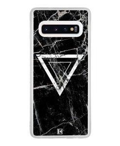 Coque Galaxy S10 – Black marble