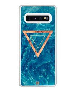 Coque Galaxy S10 – Bleu rosewood